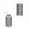 Bottarini 220980 alternative air filter