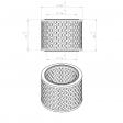 Ceccato 2200640551 alternative air filter