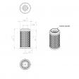 Mann & Hummel 4504355114 alternative air filter