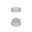 Abac 9056157 alternative air filter