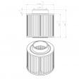 Mann & Hummel 4510055134 alternative air filter