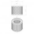 Mann & Hummel 4509054154 alternative air filter