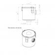 DVP 9001018 alternative air filter housing