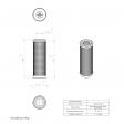 Ceccato 2200003384 alternative in-line filter