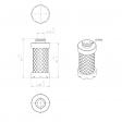 Atlas Copco 1202626400 alternative in-line filter