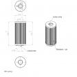 PNEUMOFORE 041041 alternative filter